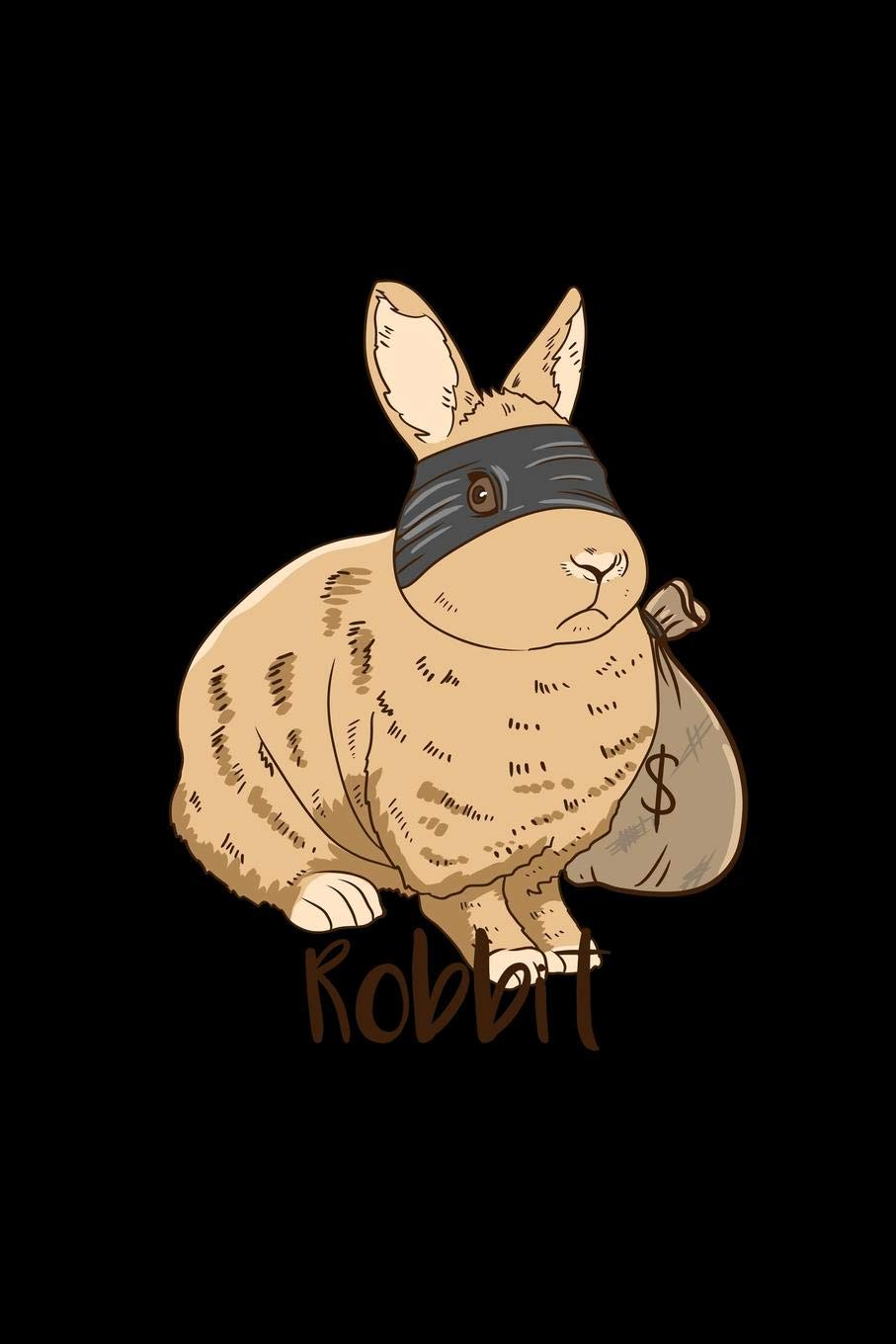 Robbit: Lined Journal.