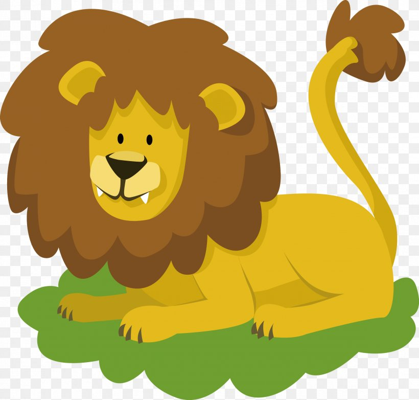 Lion Easy English Learning The Divine Romance Animal Puzzle.
