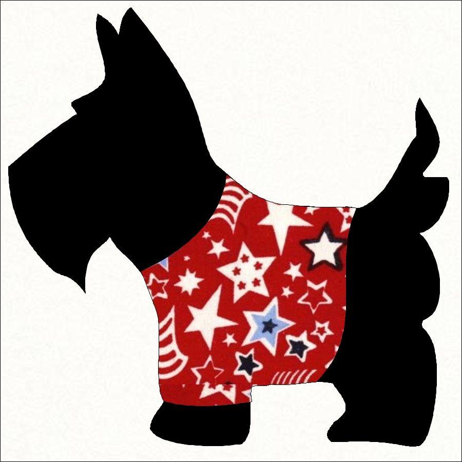 Scottie Dog Clip Art.