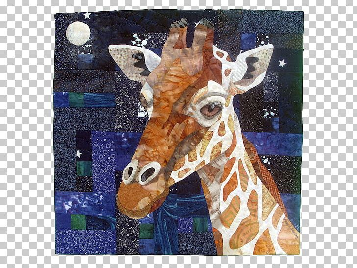Giraffe Quilting Quilt Art Mini Quilts PNG, Clipart, Animal.