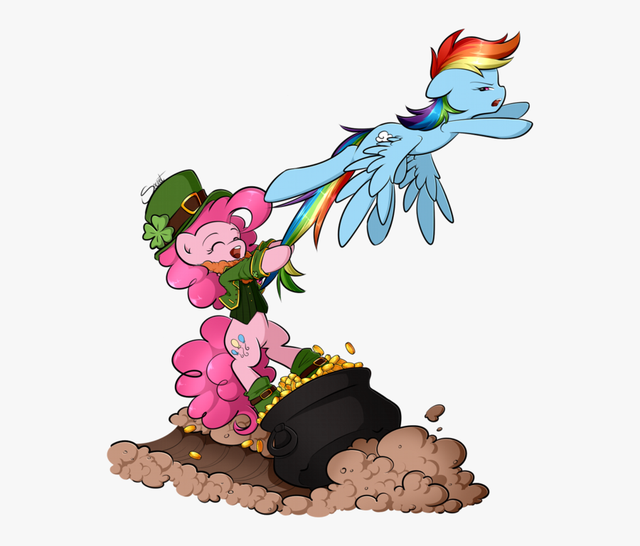Leprechaun Clipart End Rainbow.