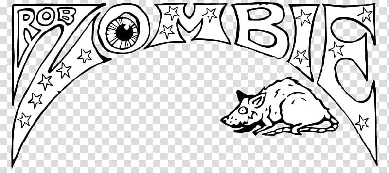 Rob Zombie Venomous Rat Regeneration Vendor Logo transparent.