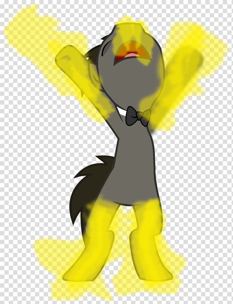 Butter Cartoon Character Pony, regeneration transparent.