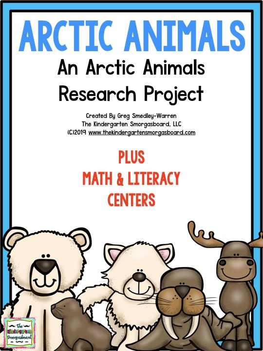 Arctic Animals: A Research and Writing Project PLUS Centers!.