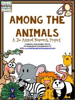 Zoo Animals Research And Writing Project!.