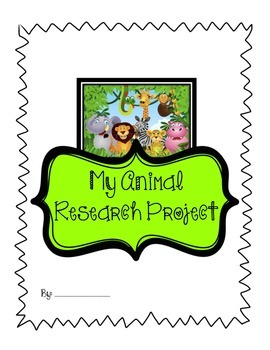 Animal Research Project.