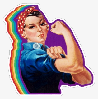 Free Rosie The Riveter Clip Art with No Background.