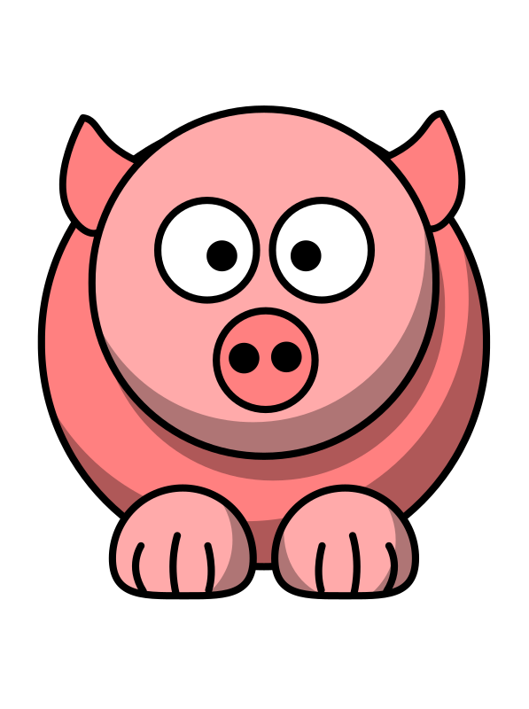 Fat clipart pig, Fat pig Transparent FREE for download on.