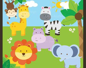 Free Baby Safari Cliparts, Download Free Clip Art, Free Clip.