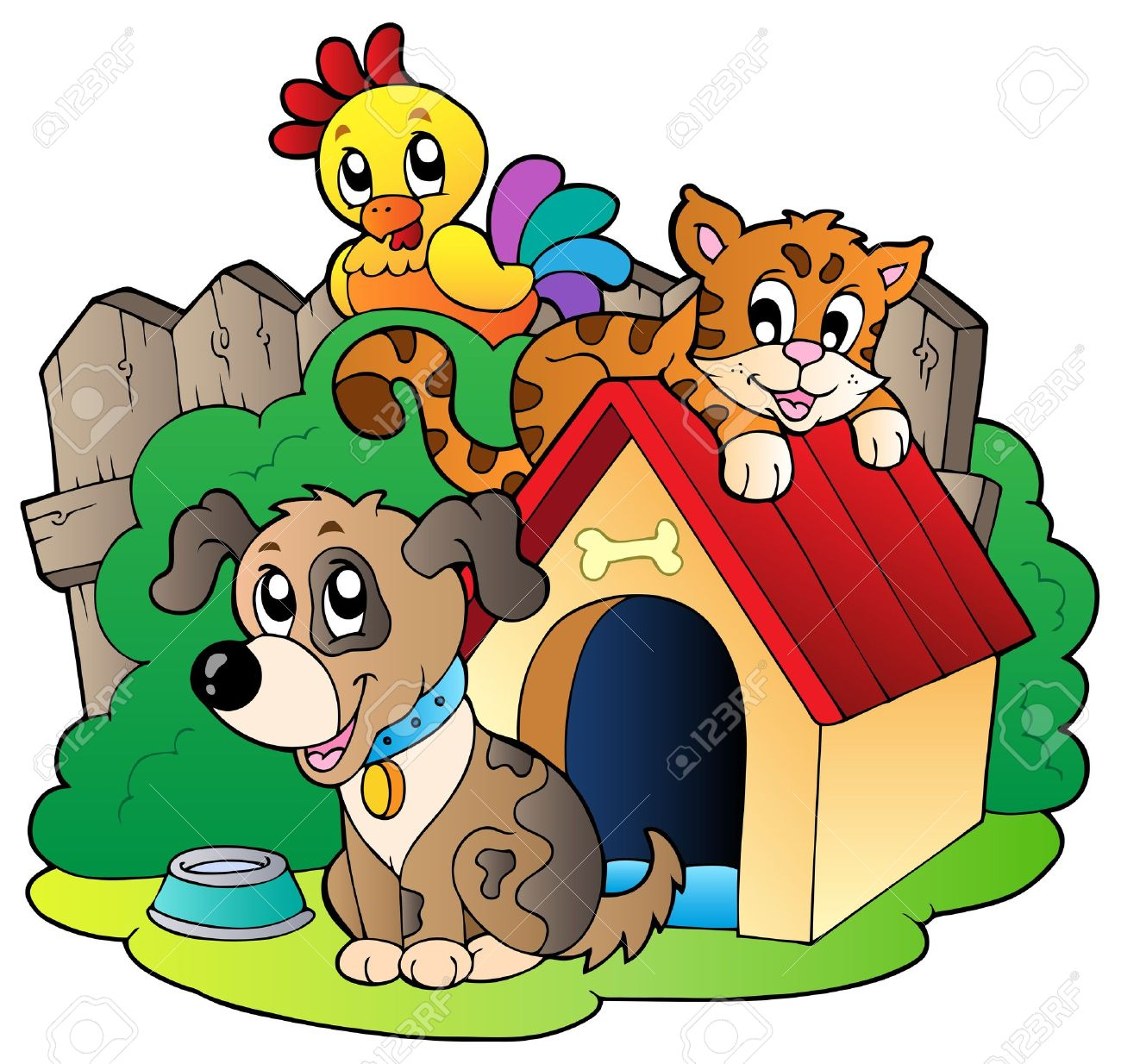 Animal Shelter Clipart.