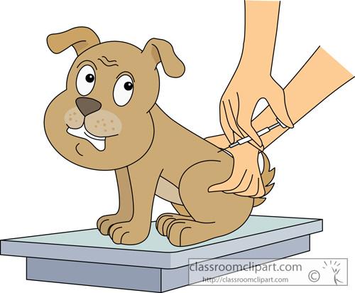 Pet Vaccine Clipart.