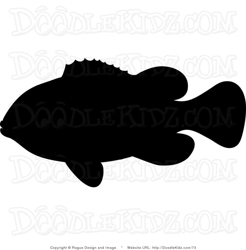 Clownfish silhouette.