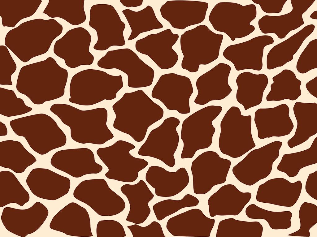 Giraffe Pattern Vector Art & Graphics.