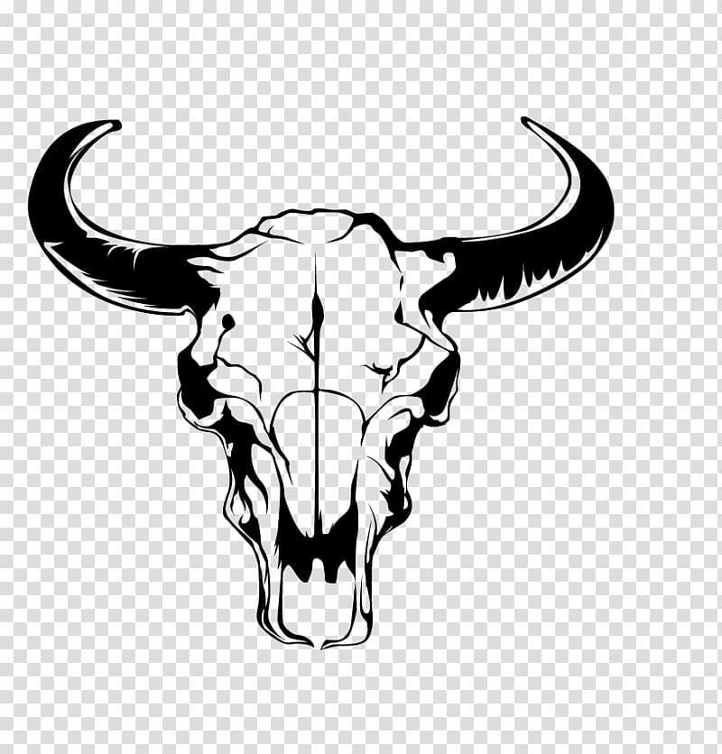White and black animal skull illustration, Guitarist Mr.