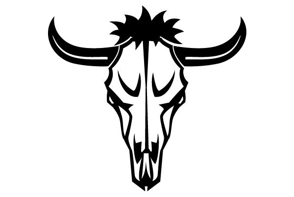 Animal Skull Vector Art.