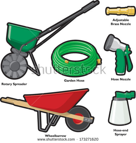 Animal spreader clipart clipground for Gardening tools clipart