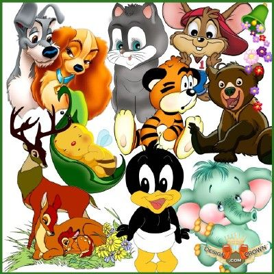 Images Of Cartoon Animals.