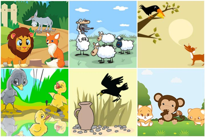 25 Amazing Animal Stories For Kids.