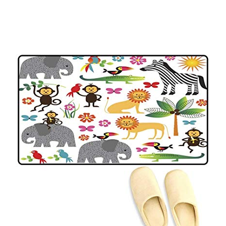 Amazon.com: doormatjungle Animal Clipart Outdoor Doormat.