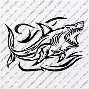Shark Svg File.