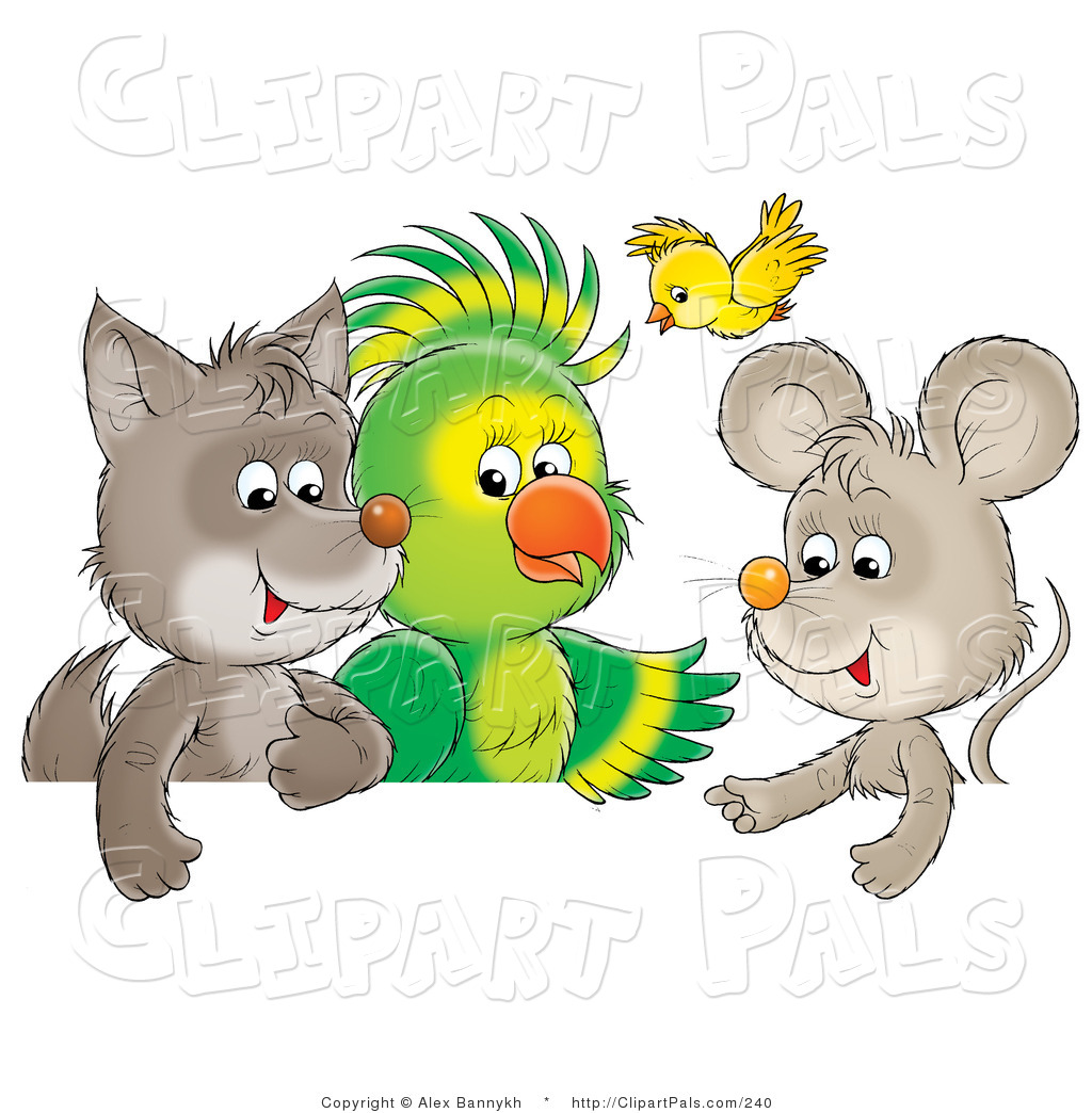 Talking Animal Clipart.
