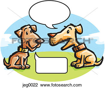 Showing post & media for Animals talking clip art.