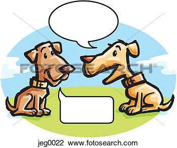 Showing post & media for Animals talking clip art.