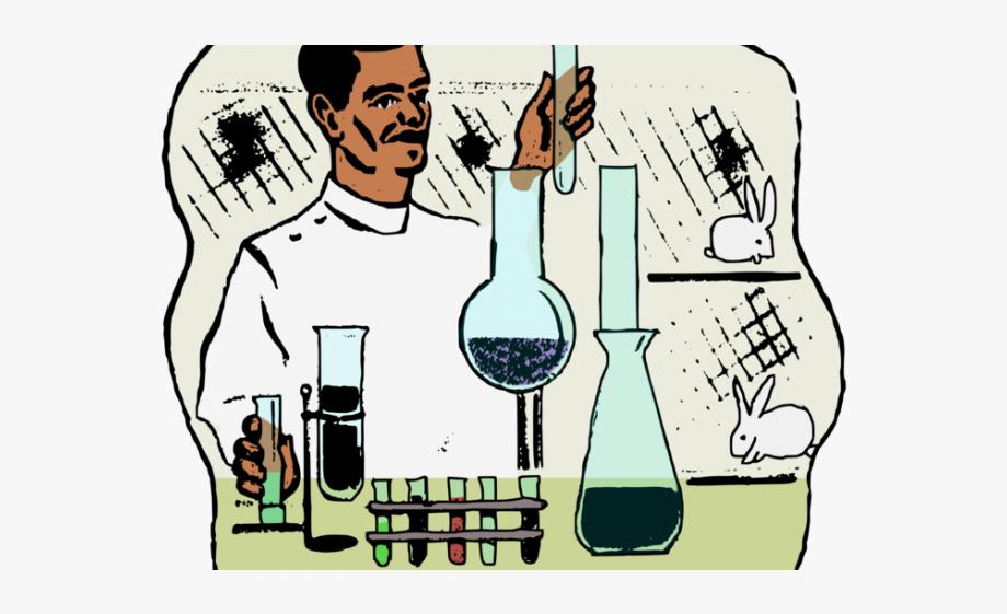 Laboratory Clipart Animal Scientist.