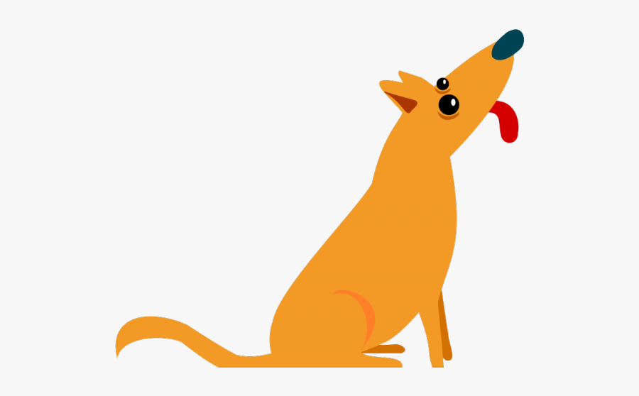 Cartoon Dog Sticking Tongue Out , Free Transparent Clipart.