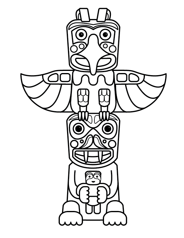 Free Totem Outline Cliparts, Download Free Clip Art, Free.