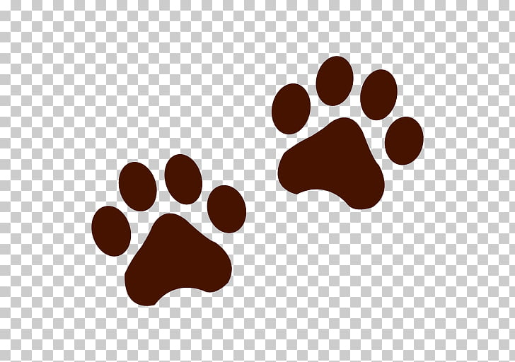 Bear Raccoon Tiger Animal track , footprint PNG clipart.