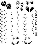 Animal tracks Illustrations and Stock Art. 4,112 Animal tracks.