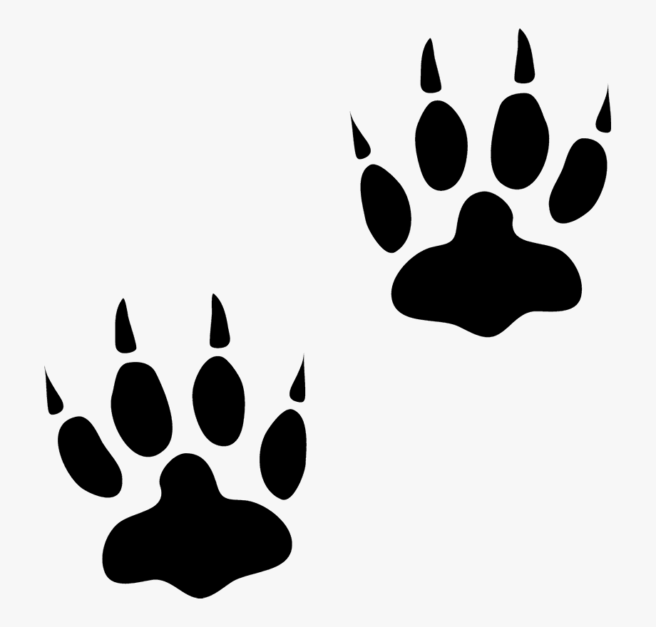 Free animal tracks clipart clipart images gallery for free.