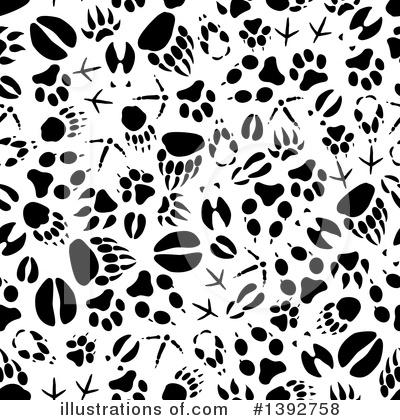 Animal Tracks Clipart #1392758.