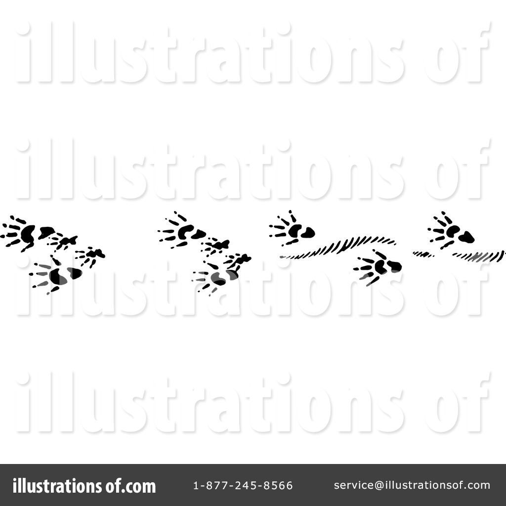 Animal Tracks Clipart #1220913.