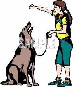 Animal Trainer Clipart.