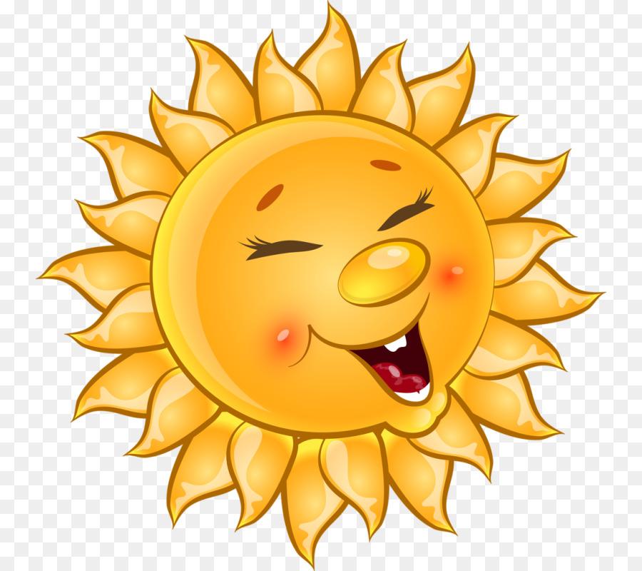 Cartoon Sunflower clipart.