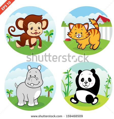 Animal Variety Clipart.
