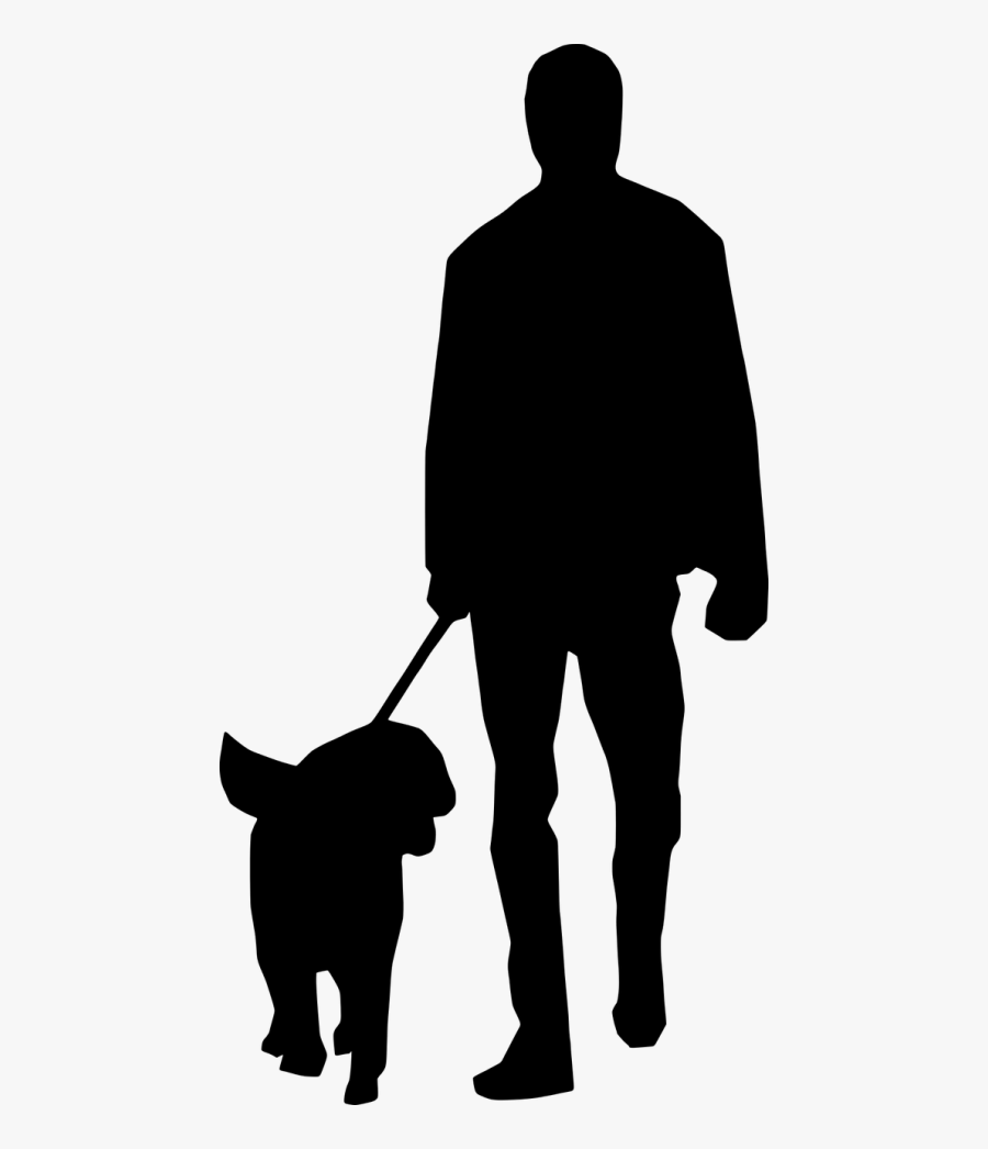 Transparent People Clipart Silhouette Walking.