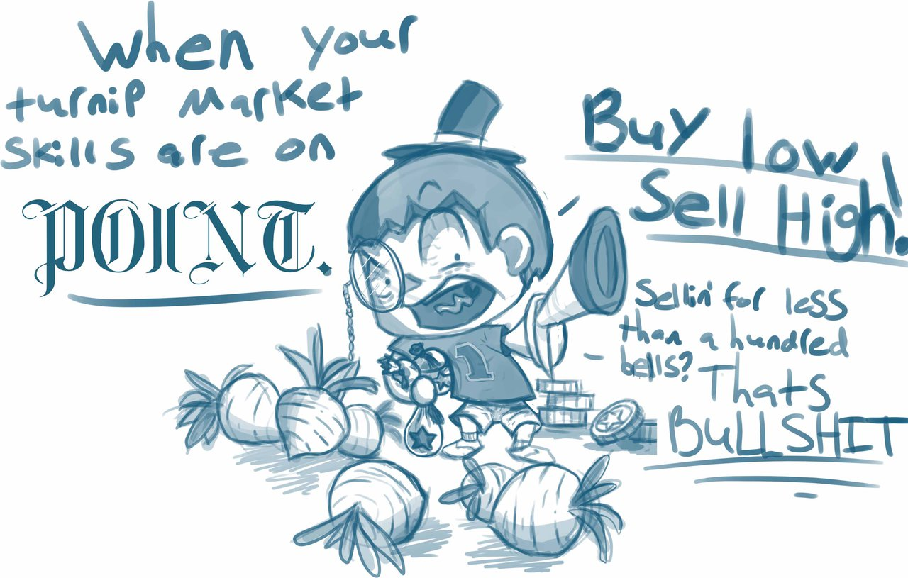 Animal Crossing Turnip Market by island.
