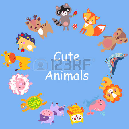 Animals World Stock Illustrations, Cliparts And Royalty Free.