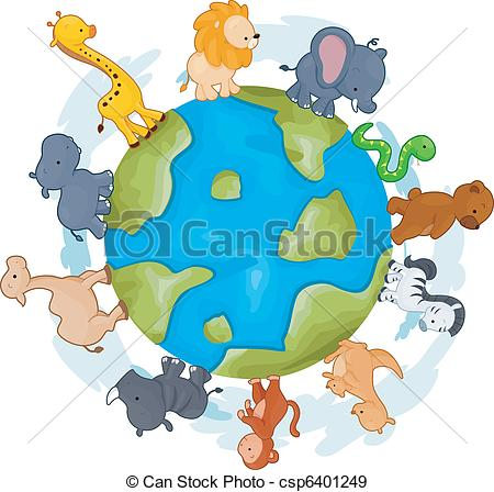 Animals world Clipart Vector Graphics. 3,263 Animals world EPS.