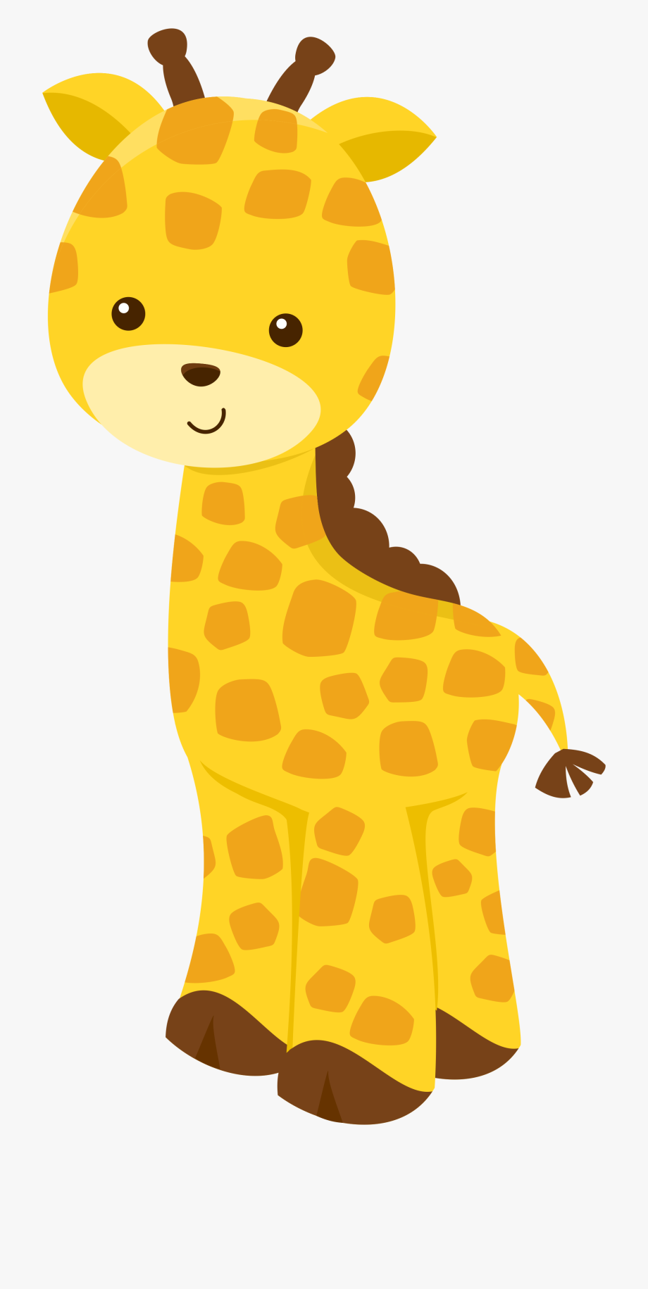 Baby Jungle Animal Clipart.