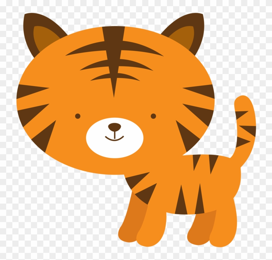 Tigres Clipart Individual Safari Animal.