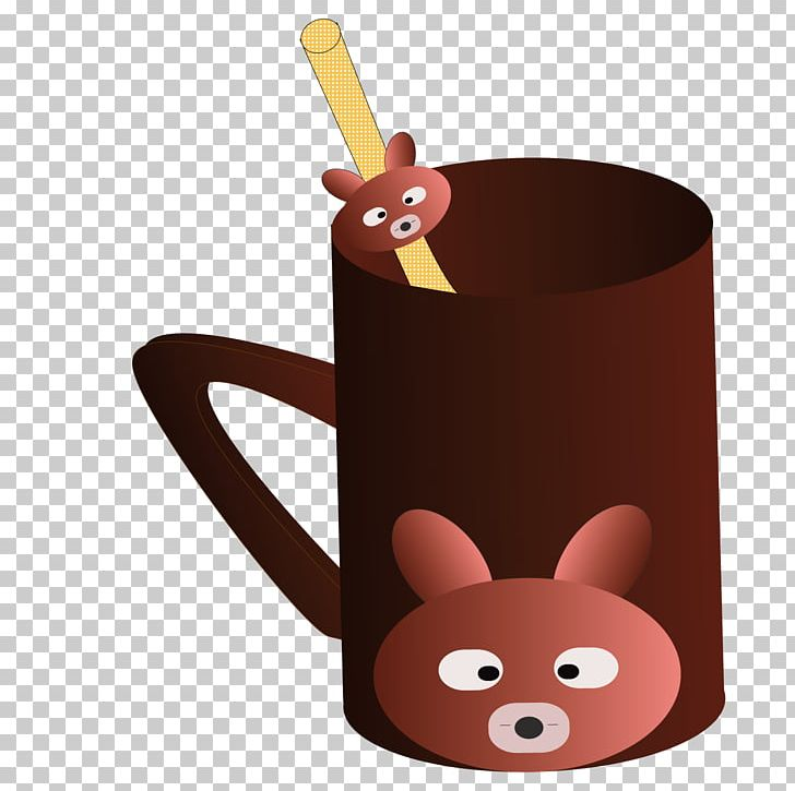 Bear Coffee Cup PNG, Clipart, Adobe Illustrator, Animals.