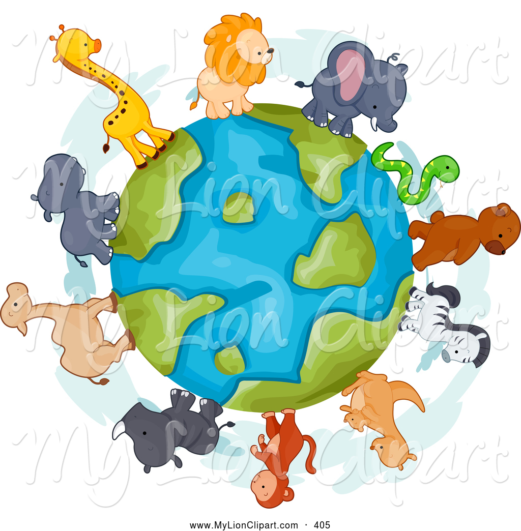 Animal World Clipart.