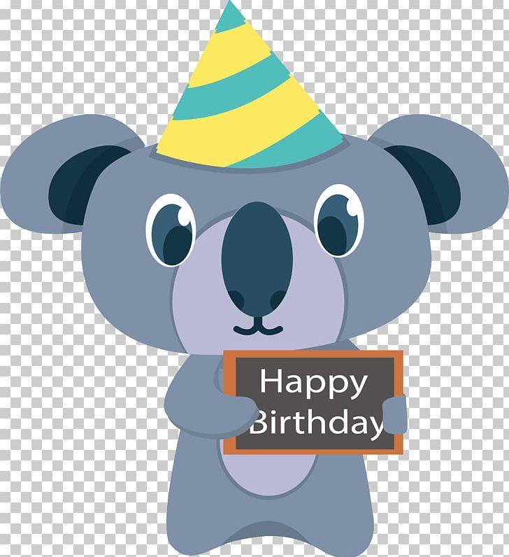 Koala Happy Birthday To You PNG, Clipart, Animals, Birthday.