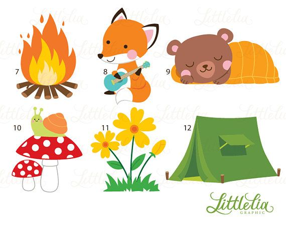 Camp clipart animal, Camp animal Transparent FREE for.