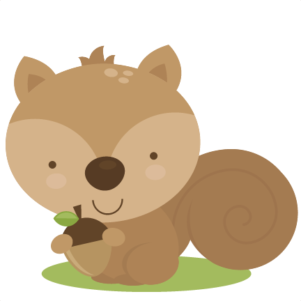 Camping animal clipart.
