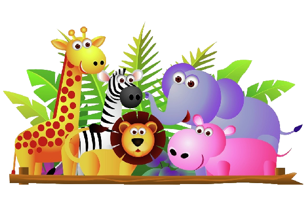Baby zoo animals clipart kid 4.